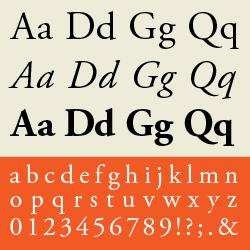 typographie : garaldes