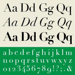 typographie : didones
