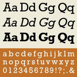 typographie : mécanes