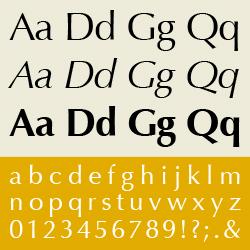 typographie : incises