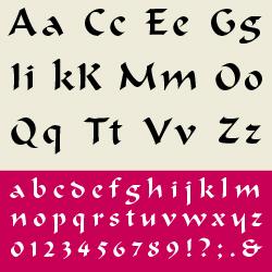 typographie : manuaires
