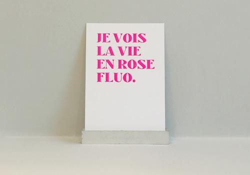 Je vois la vie en rose