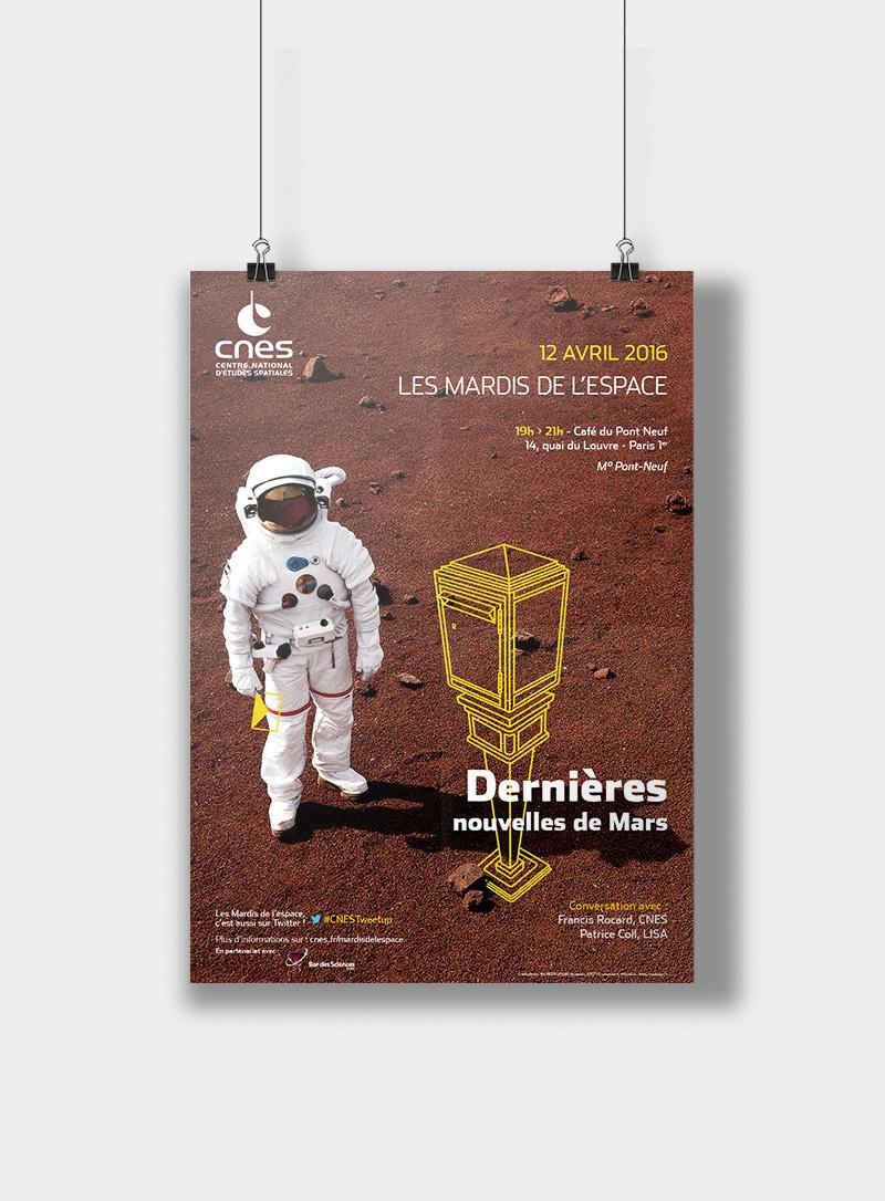 Mardis de l'espace - CNES