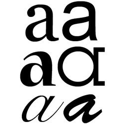 typographie : police de caractère