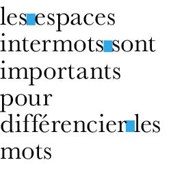 typographie : intermots