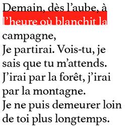 typographie : interligne