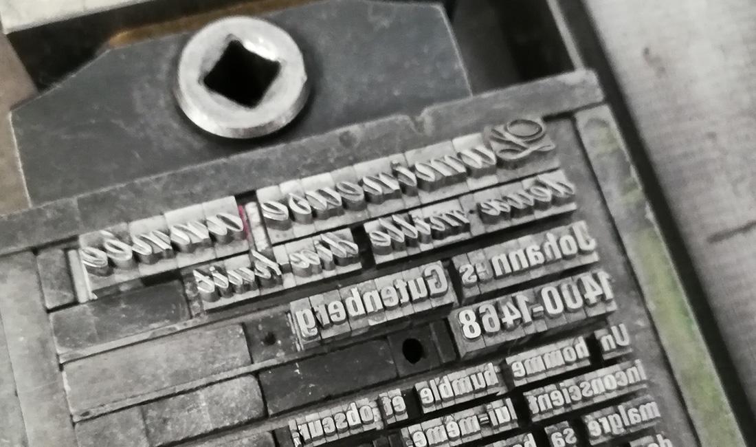 impression typographique